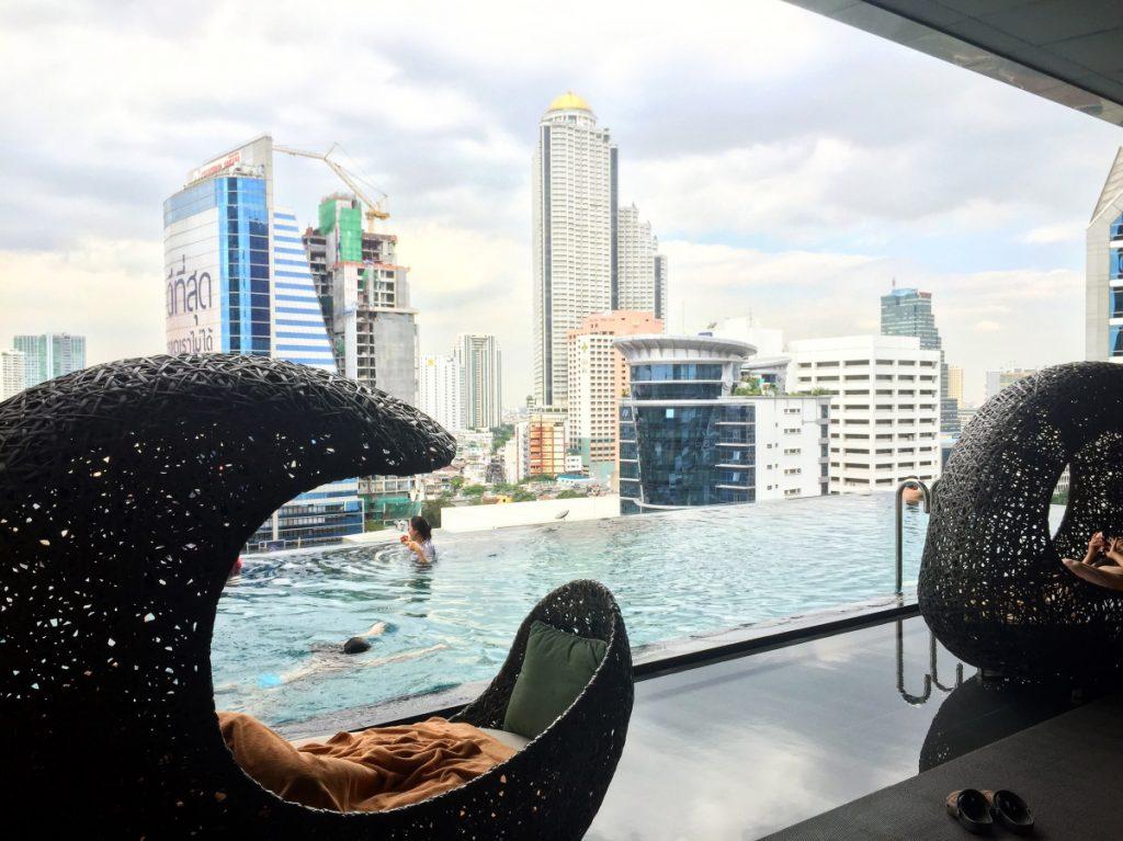 Eastin Grand Hotel Sathorn Bangkok- über den Dächern der Stadt