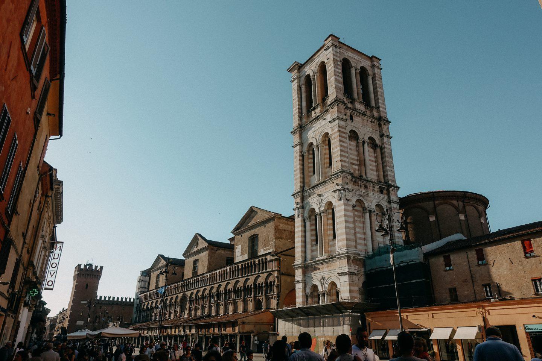 Ferrara Altstadt
