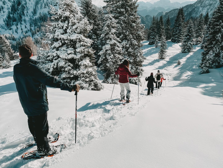 Schneeschuh wandern in Kärnten
