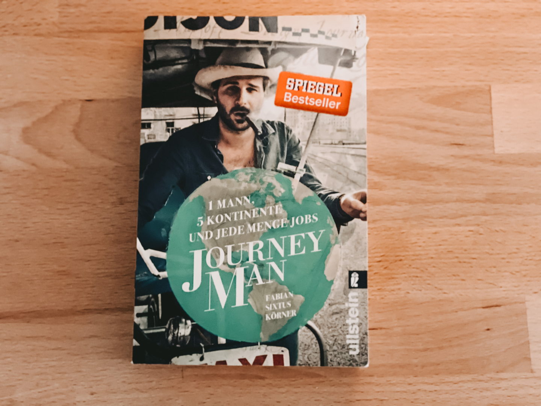 Reisebuch/ Lieblingsbuecher - Journey Man