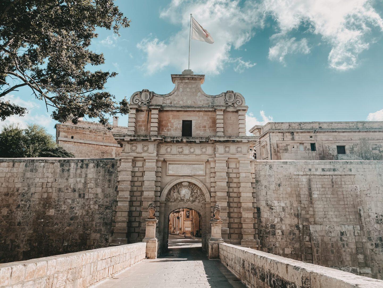 Mdina Gate auf Malta