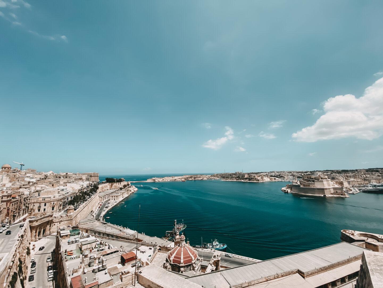 Aussichtsplattform auf Malta